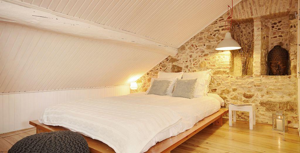 Une chambre cosy et spacieuse