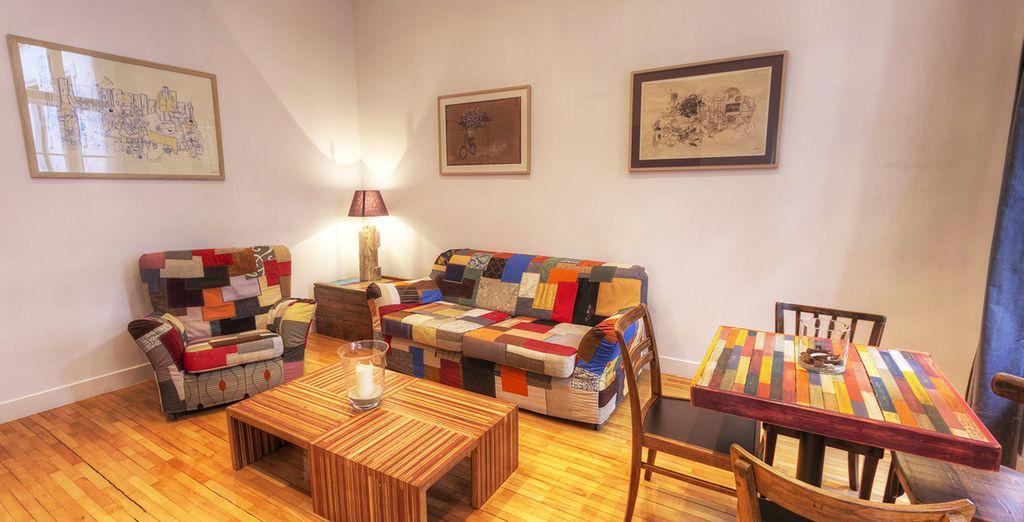 Installez-vous dans votre appartement...  - Brody Apartements Budapest