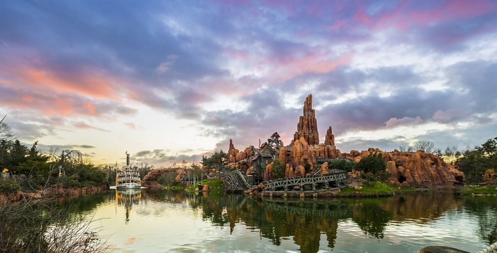 Les sensations fortes de Big Thunder Mountain
