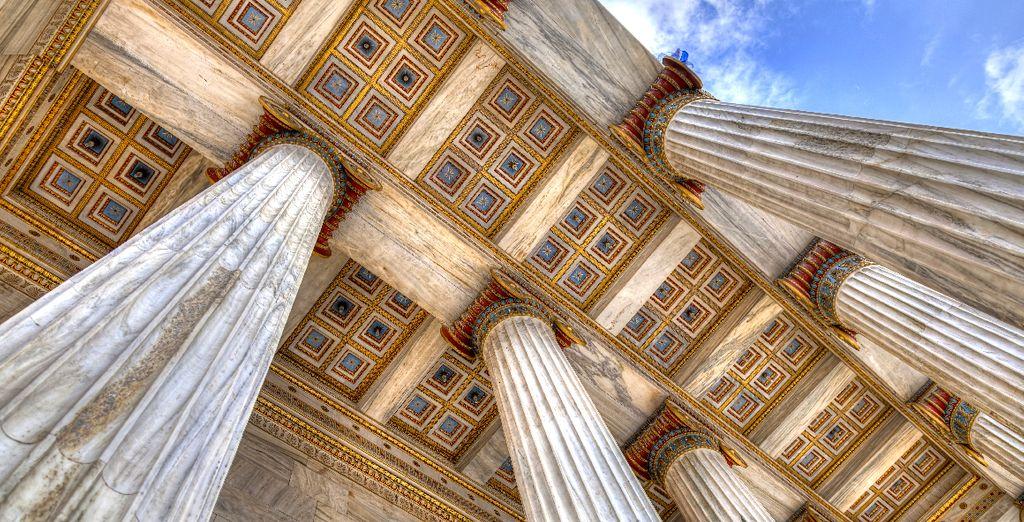 Athènes cache de nombreux secrets