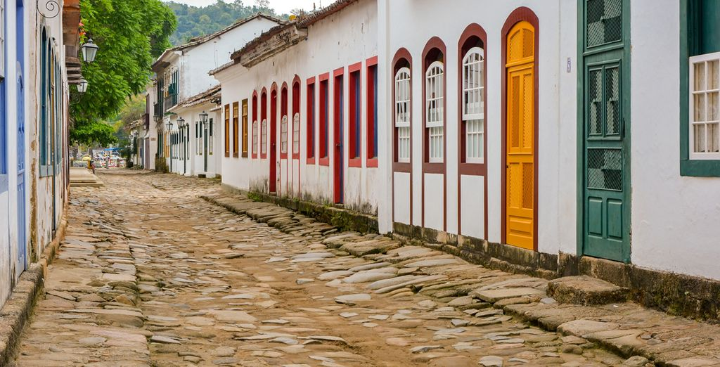 Et de Paraty, village colonial du XVIème siècle