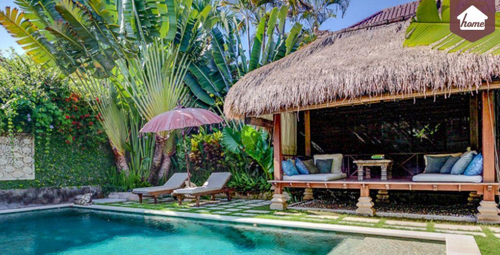 Bienvenue chez vous - Villa 2 chambres jusqu'à 4 personnes (150m2) Bali