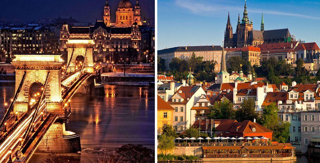 Préparez vous pour un voyage haut en couleurs... - Combiné Prague, Budapest Prague