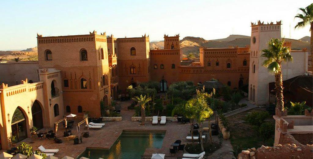 Et passerez vos nuits dans de sublimes établissements comme le Riad Ksar Ighnda