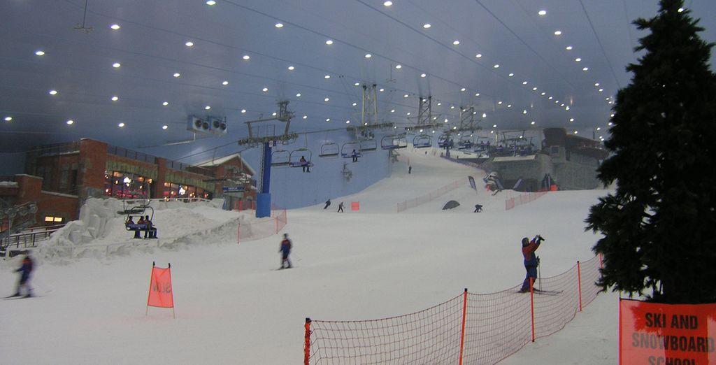 Ou les pistes de ski !