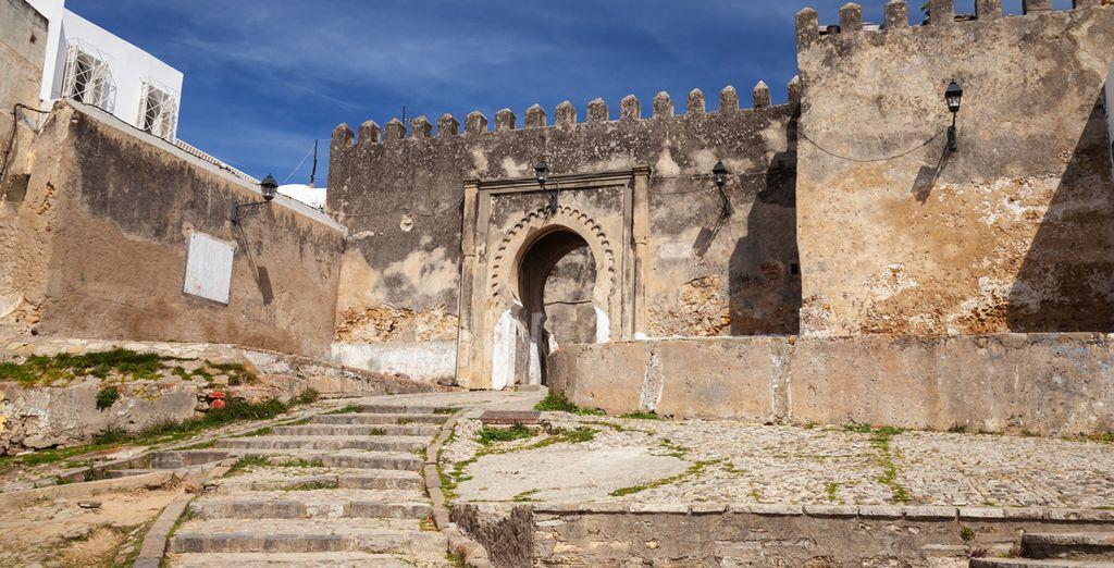 Flânez sur des sites historiques et faites un bon dans le passé...