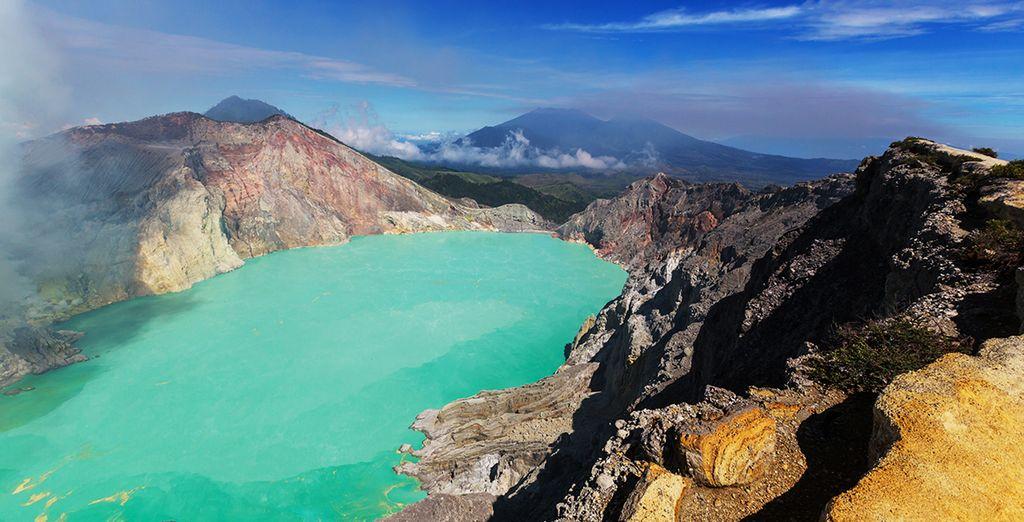 Mont Ijen en Indonésie