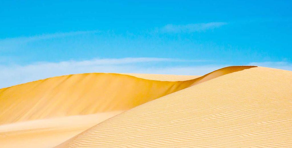 A deux pas des dunes de Corralejo