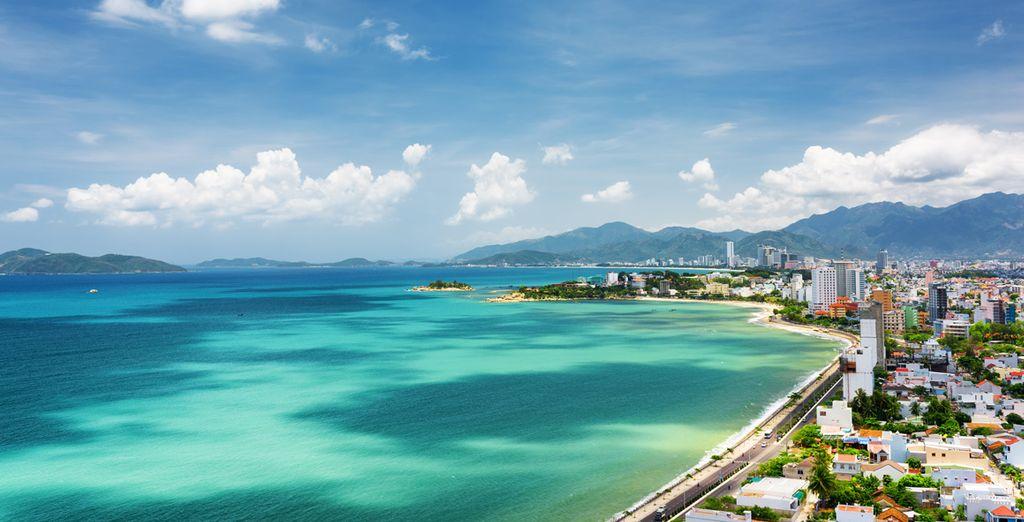 Avant de faire une escale en bord de mer, à Nha Trang