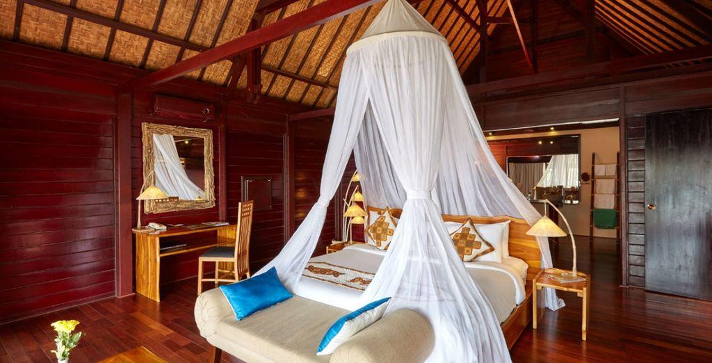 Pour plus d'intimité, rendez-vous en Villa Sunset avec piscine