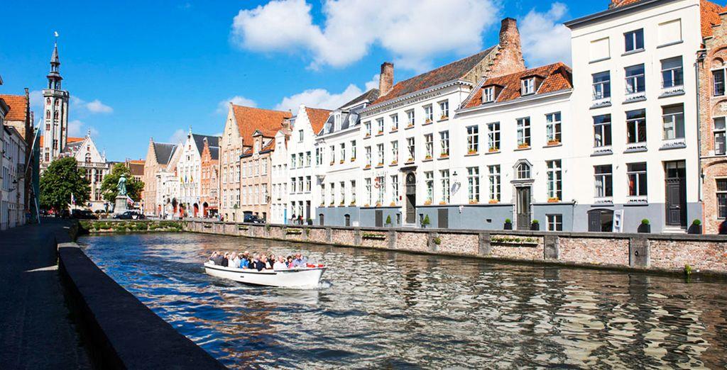 Évadez-vous dans l'une des plus belles villes de Belgique !