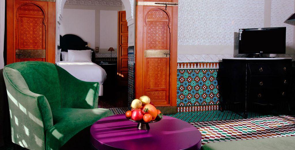 La Suite Deluxe se dote d'un agréable salon