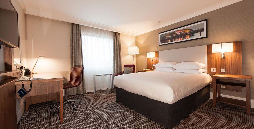 Où vous serez accueillis dans des chambres spacieuses et élégantes