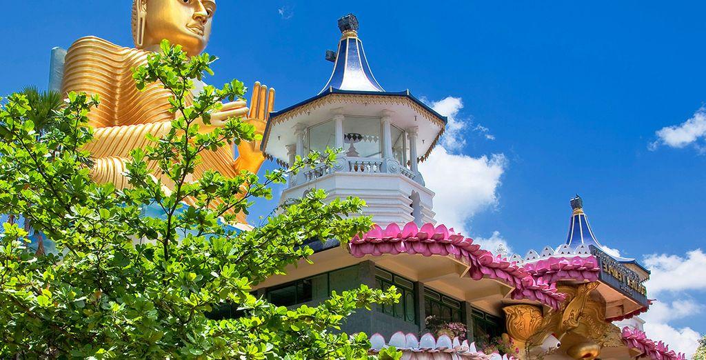 Les nombreux temples de Bouddha vous attendent...
