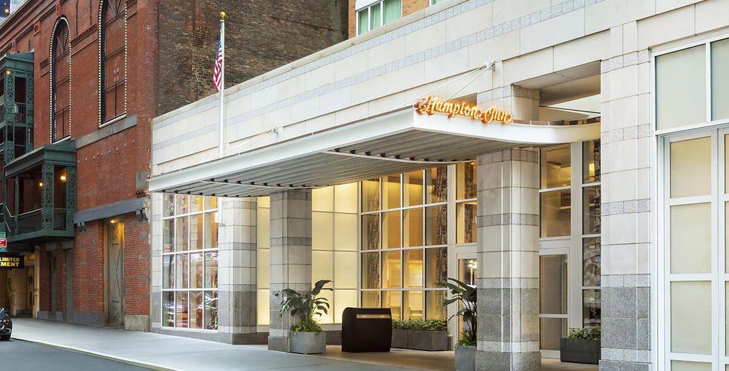 Installez-vous au Hampton Inn Manhattan