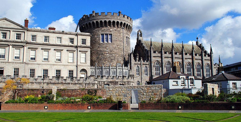 Ou encore l'imposant Château de Dublin