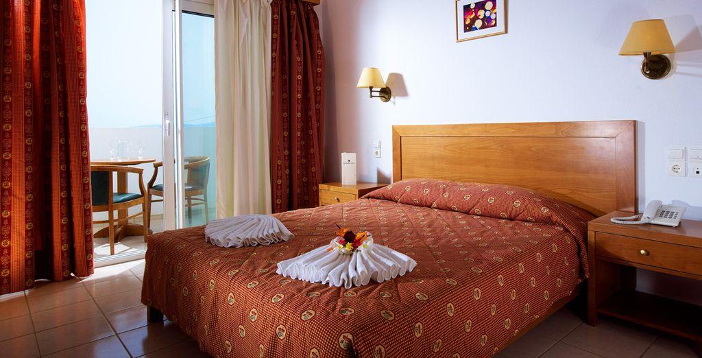 Profitez du confort de votre chambre Standard