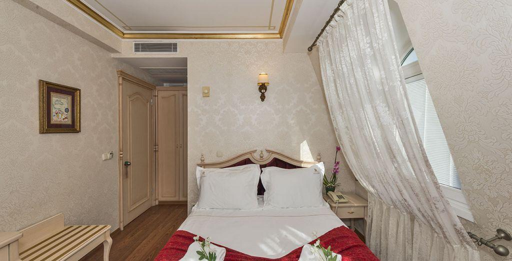 Vous serez hébergé dans une confortable chambre Standard