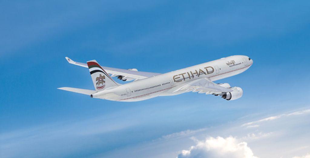 Un avion de la compagine Etihad