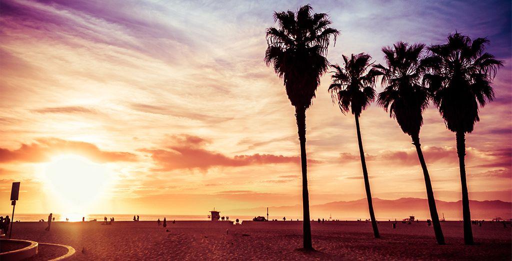 Sans oublier la légendaire cité des Anges, Los Angeles...
