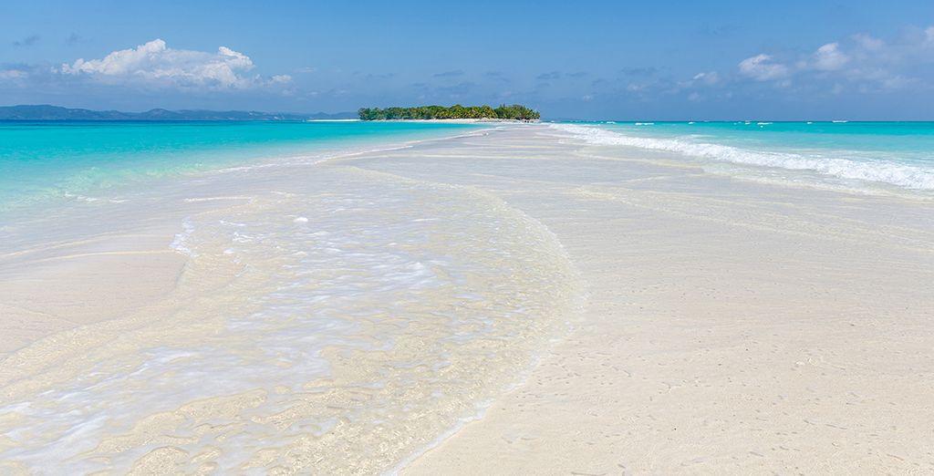 L'île paradisiaque de Nosy Iranja...