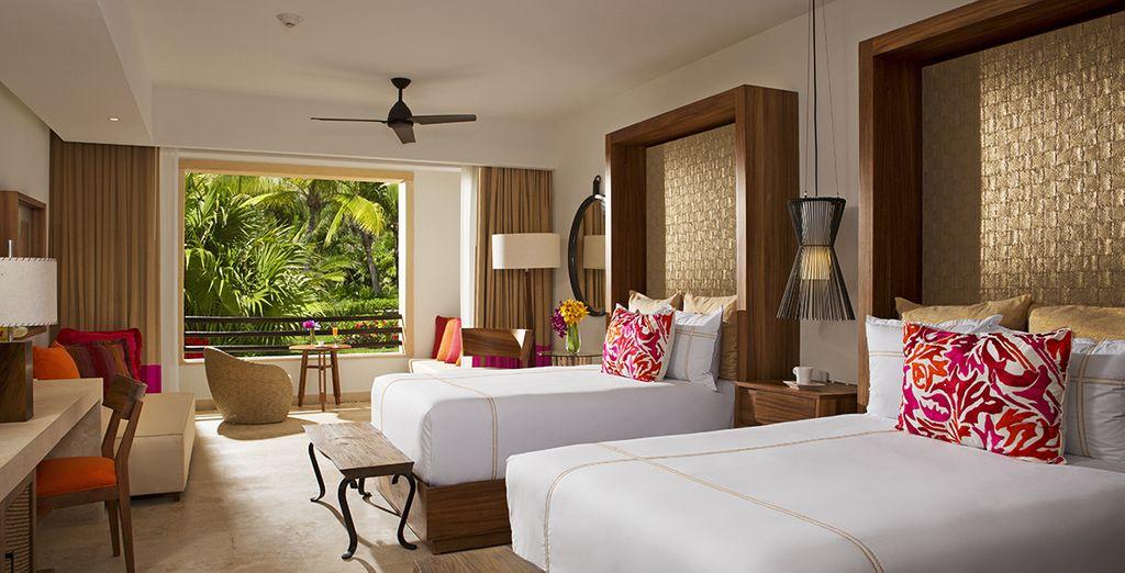Où vous séjournerez en Junior Suite Vue Tropicale