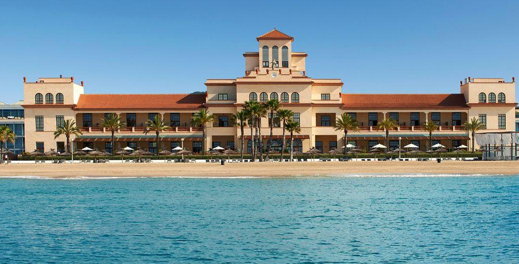 Et la plage et le soleil vous feront les yeux doux - Méridien Ra Beach Hotel & Spa 5* El Vendrell