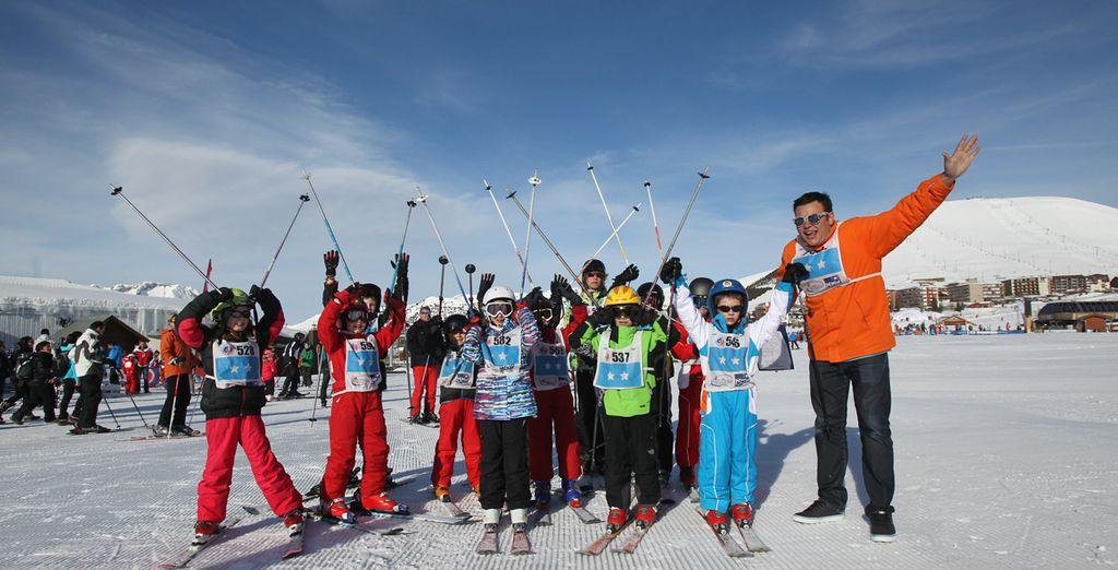 Comme dévaler les pistes de ski