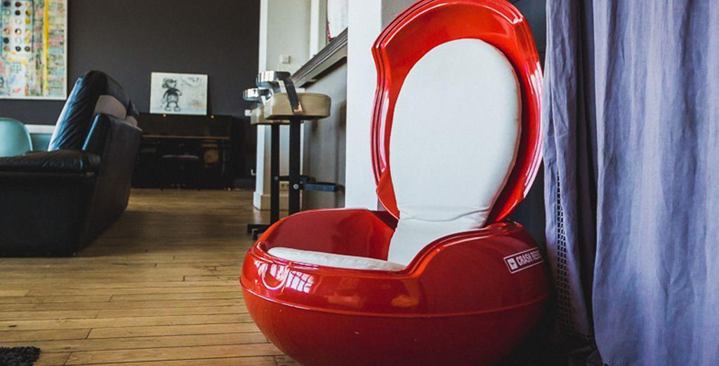 Un mobilier moderne et confort