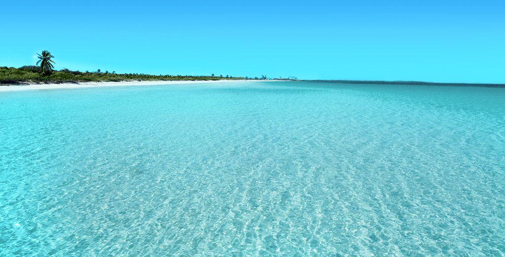 Puis place à la détente, à la plage, à l'eau cristalline...
