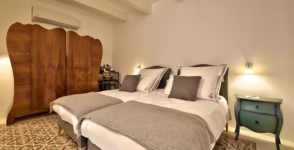 Installez-vous en Suite 2 au Boutique Hôtel Casa Ellul - Boutique Hôtel Casa Ellul  La Valette