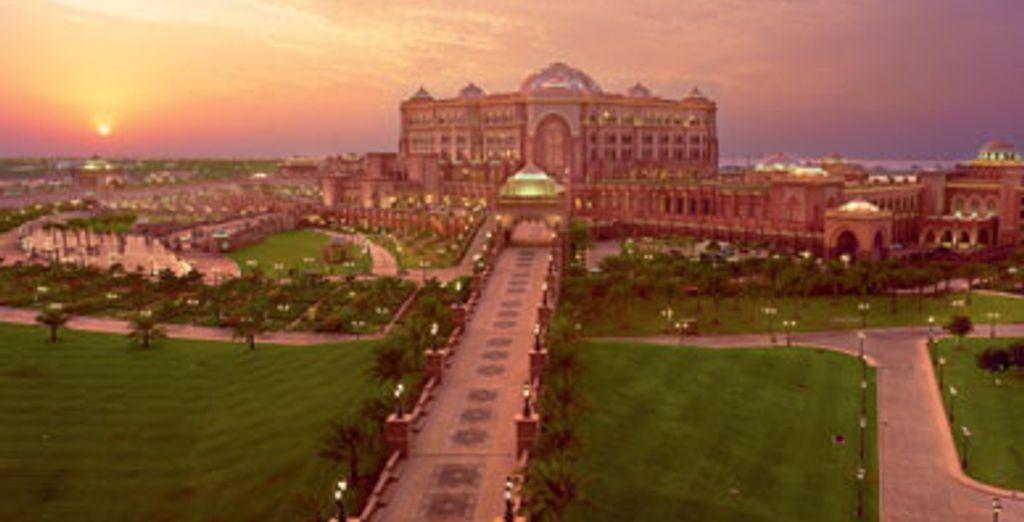 - Emirates Palace ***** - Abu Dhabi - Emirats arabes unis Abu Dhabi
