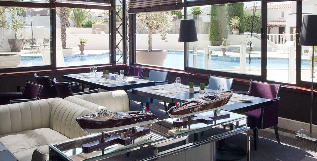 ou ambiance lounge au restaurant l'Aquarama