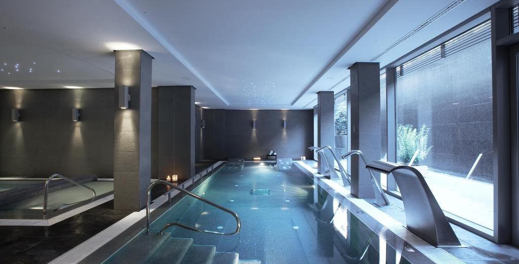 Doté d'équipements à la pointe : une piscine dynamique