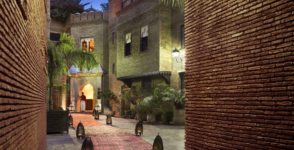 En poussant les portes de La Sultana Marrakech 5*
