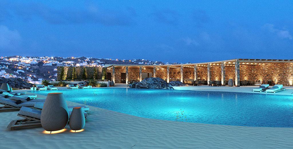 Combiné ciel de Santorin et rêve de Mykonos en 6, 8 ou 10 nuits