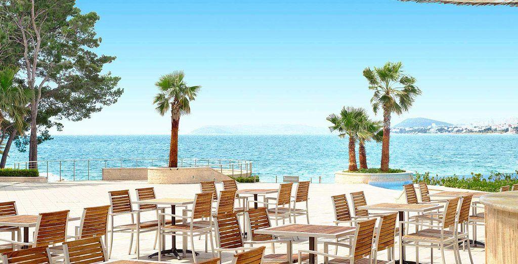 Pour un séjour de rêve, face à la mer Adriatique