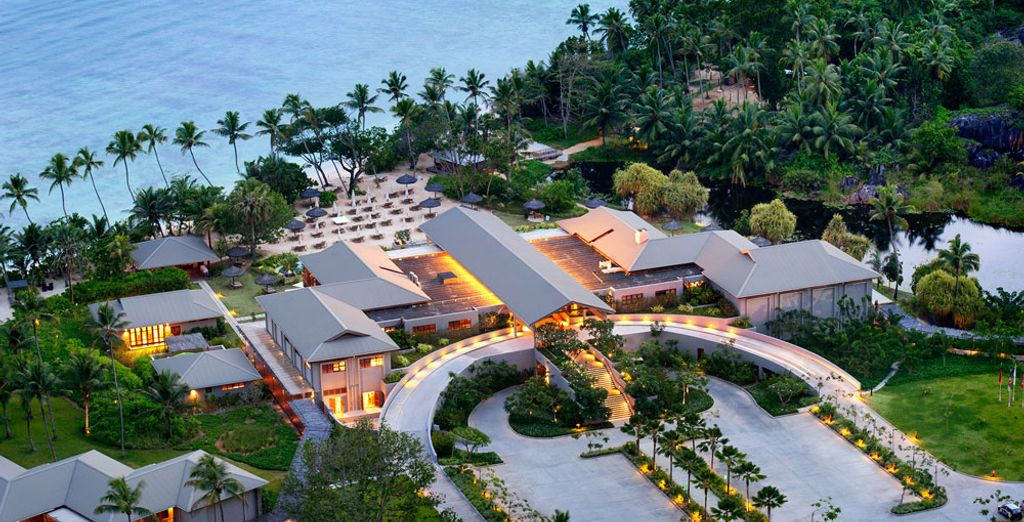 Et posez vos valises au Kempinski Seychelles Resort