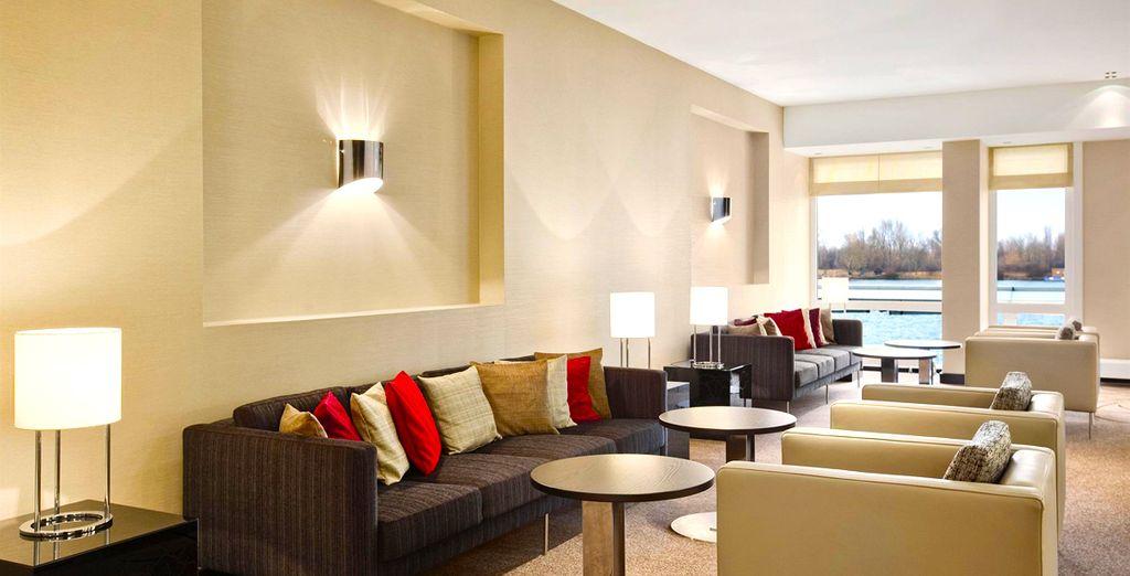 Découvrez votre hôtel, en bordure du Danube... - Hilton Danube Waterfront 4* Vienne