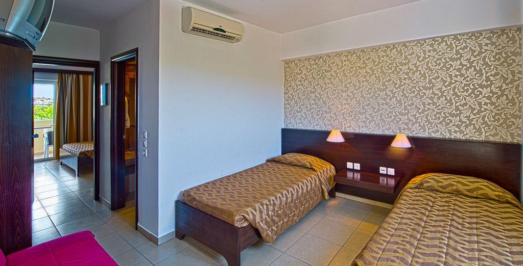 Chambre Standard, chambre Famille Open Plan ou chambre Famille avec 2 chambres