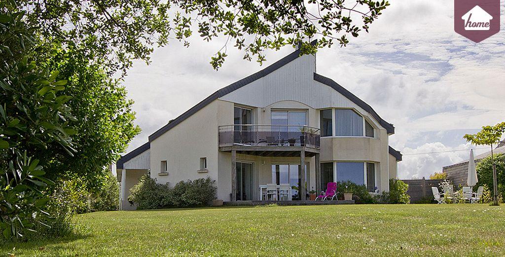 Dans votre villa - Villa 2 chambres jusqu'à 4 personnes Plouhinec