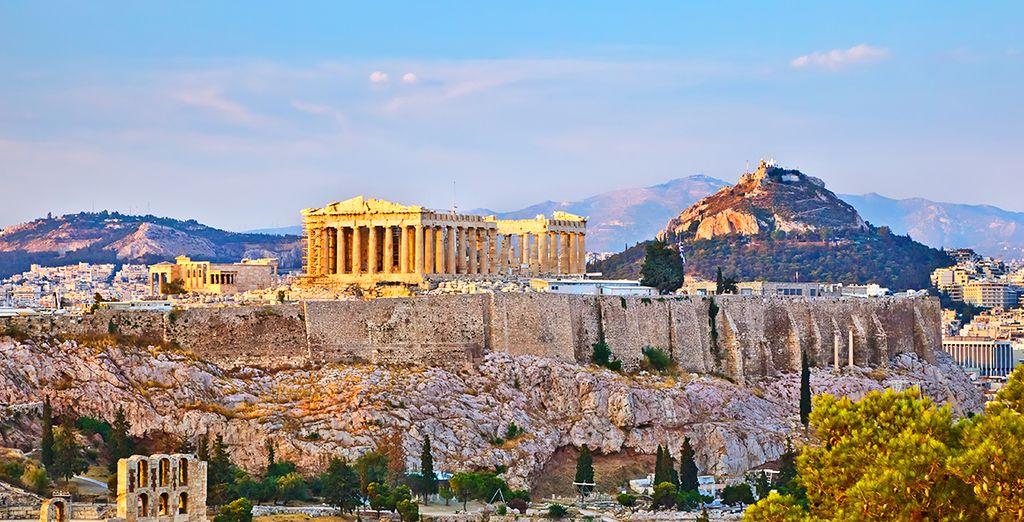 Athènes sera le point de départ de cette belle virée - Autotour Grèce Antique Athenes