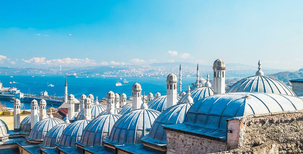 Pour découvrir tous les charmes de l'envoûtante Constantinople...