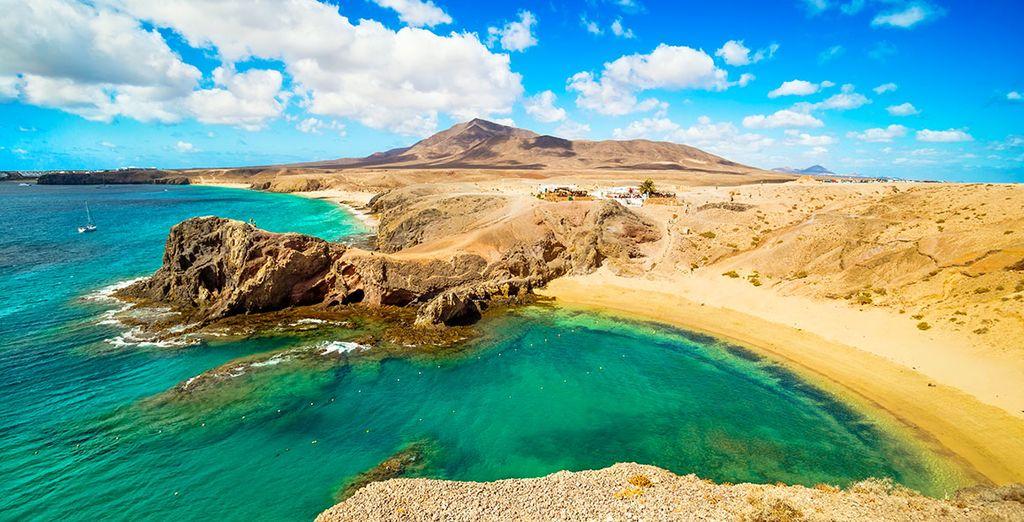 Lanzarote va vous emporter, bon séjour !