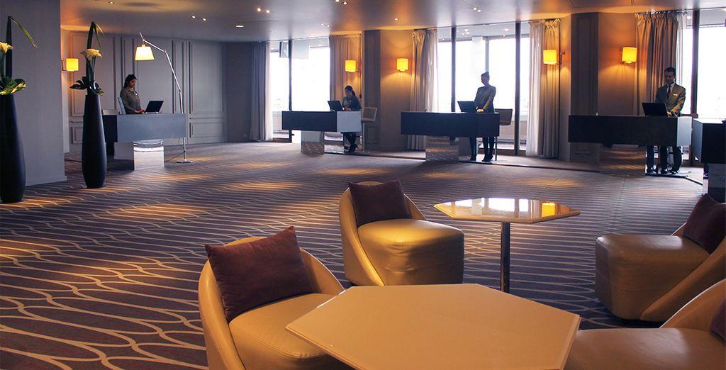 Immiscez-vous dans le luxe et l'immensité du Hyatt Regency Paris Etoile - Hyatt Regency Paris Étoile 4* Paris