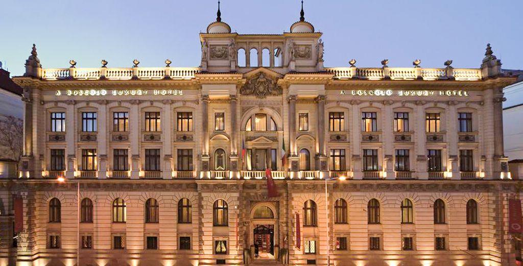 Bienvenue au Boscolo Prague, Autograph Collection - Hôtel Boscolo Prague, Autograph Collection 5* Prague