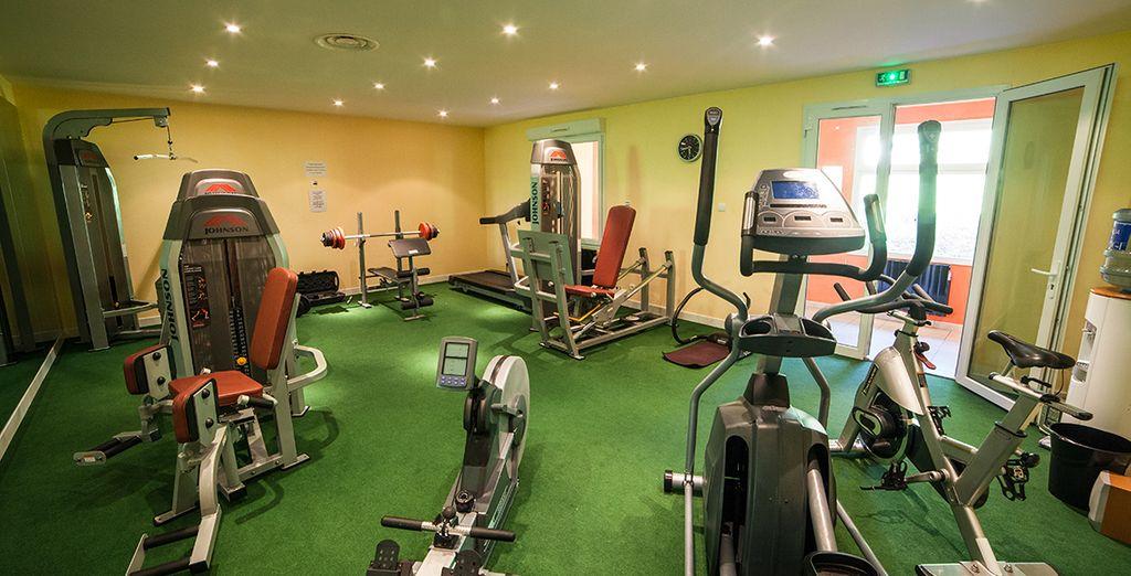 Ou la salle de fitness