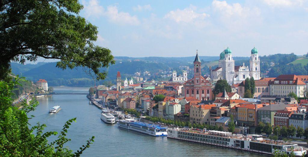 Photographie de l'Autriche lors d'une croisière sur le Danube