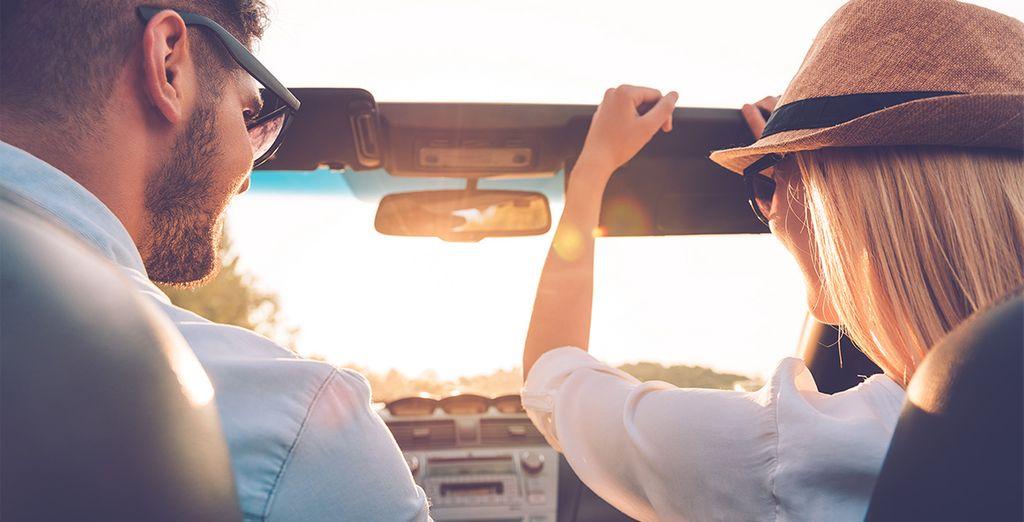 Embarquez à bord de votre voiture de location et venez sillonner la pays en toute liberté  - Autotour Découverte de la Guadeloupe Deshaies