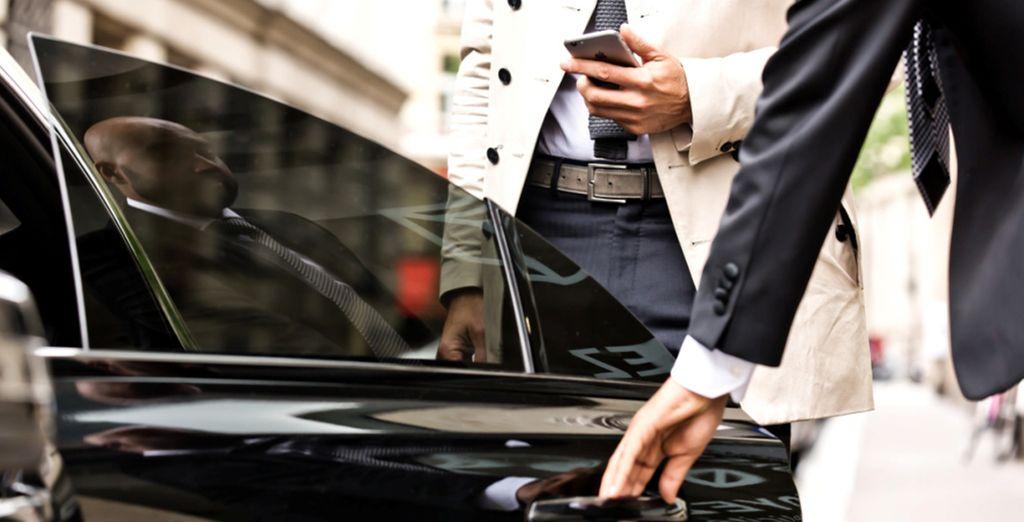 Depuis Paris, prenez place à bord de votre Uber vers Orly